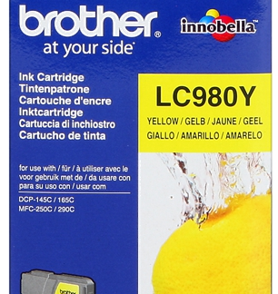 Brother cartucho amarillo DCP145 165