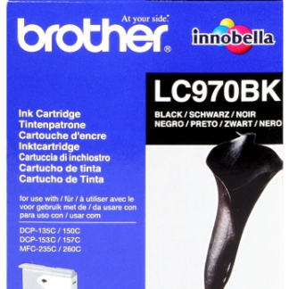 BROTHER LC-970BK Cartucho Negro DCP135 150 23